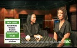BSC Show Host, Chinue Jonie helps a small business owner sell her product on the show.