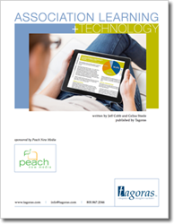 Cover image of Tagoras Association Learning + Technology Report