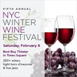 New York Wine Festivals to Present the 5th Annual NYC Winter Wine...