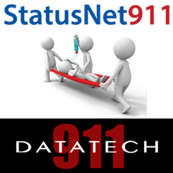 StatusNet911 provides real-time communication between hospitals, public health departments, police, fire, and EMS.