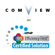 Comview is an AOTMP Efficiency First Certified Solution