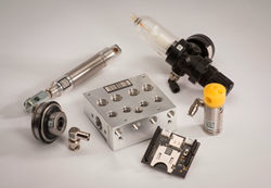 Polyonics LML materials used for die cut labels on a variety of parts
