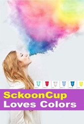 SckoonCup is the first menstrual cup that launched branding campaigns based on it unique propositions.