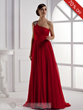 Elegant A-Line Floor Length One Shoulder Prom Dress