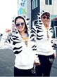 Korean Style Leopard Specific Couple Hoodies