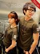 Celebrity Korean Style Short Sleeve Couple T-Shirt