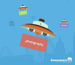 Photography is popular domain name extension