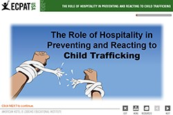 Educational Institute, AHLEI, ECPAT-USA,  human trafficking, child sex trafficking