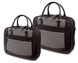 Herringbone Element Briefcase Collection - TSA Compliant