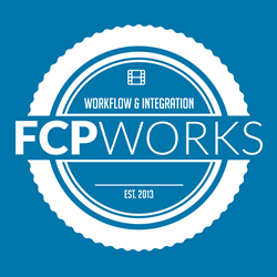 FCPWORKS, An Apple Authorized Reseller specializing in Final Cut Pro X.