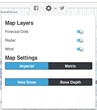 FreshyMap Settings Controls