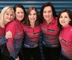 Team Erika Brown (Team USA) competes in the Continental Cup January 16-19 in Las Vegas.