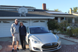 Glenn and Sandi Williams with their Bitcoin-paid solar electric system