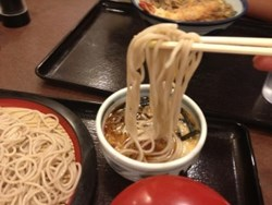 Soba Noodles are a Delicious, Healthy part of Washoku