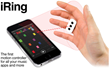 IK Multimedia Announces iRing - the First Motion Controller for iPhone, iPad and iPod Touch Music Apps and More