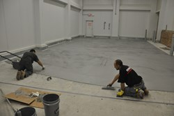 cold room floor coating