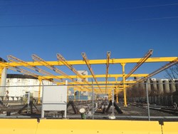 The 8 rail system, designed and installed by Fall Protection Systems is the largest turnkey project in company history.