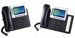 New enterprise grade Grandstream GXP2140 and GXP2160 VoIP phones available at VoIP Supply