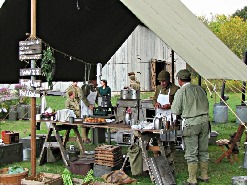 Fully Operational WWII Field Kitchen Comes to National