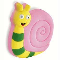 Pink Snail Cupboard Knob