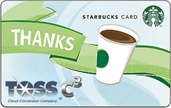 Co-branded Starbucks Card