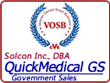QuickMedical has over 12,000 products on FSS/GSA contract.