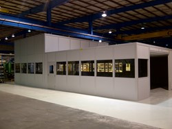 modular office, modular office system, modular offices, in-plant offices