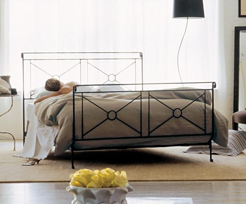 Charles P Rogers Bed Chosen by Hollywood Set Decorators