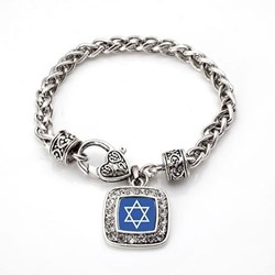 Star of David Charm Bracelet from Inspired Silver