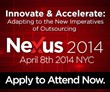 Nexus 2014:Innovate and Accelerate: Adapting to the New Imperatives of Outsourcing