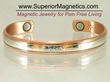 New Copper Magnetic Bracelet for Pain Relief Announced Superior...