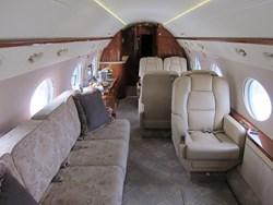Gulfstream G450 cabin