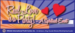 Real Love is a Party - A Spiritual Event