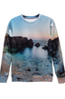 Graphic Sweatshirt, Lifelike Sweatshirt, Sea Sweatshirt