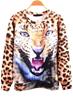 Leopard Sweatshirt, Lifelike Sweatshirt