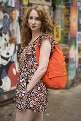 The Healthy Back Bag Microfibre Orange Crush