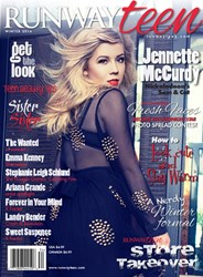 Jennette Mccurdy on the cover of Runway Teen
