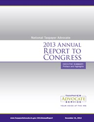 2013 Annual Report to Congress