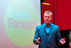 "Mark Murphy '82 Encourages Students to ""Travel Forward"""
