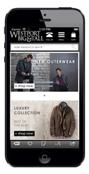 Westport Big & Tall Dresses Up With Mobile & Tablet Commerce Sites
