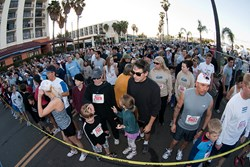 Turn-out for the Redondo Beach 10k/5k is huge