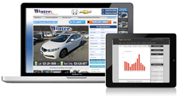 TapClassifieds Auto distributes auto-dealer inventory across multiple digital-marketing channels, thus driving car buyers to dealerships and tracking those leads.