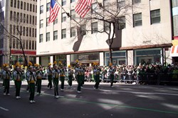 New York's St Patrick's Day Parade