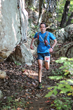 Running the Rock/Creek StumpJump 50k trail race