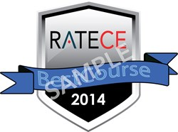RateCE Best Course Shield
