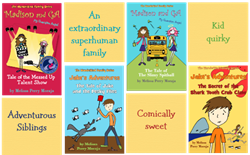 The Wunderkind Family Children's Chapter Book Series