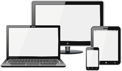 Responsive Website Design optimizes information for any screen size.