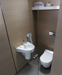 duravit 016009 one-piece elongated wall-mounted toilet washdown model from starck 2 series