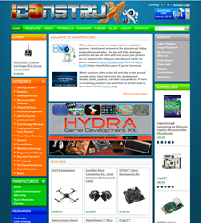 iC0nstruX..com Website Home Page