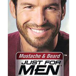 Just for men skin burn